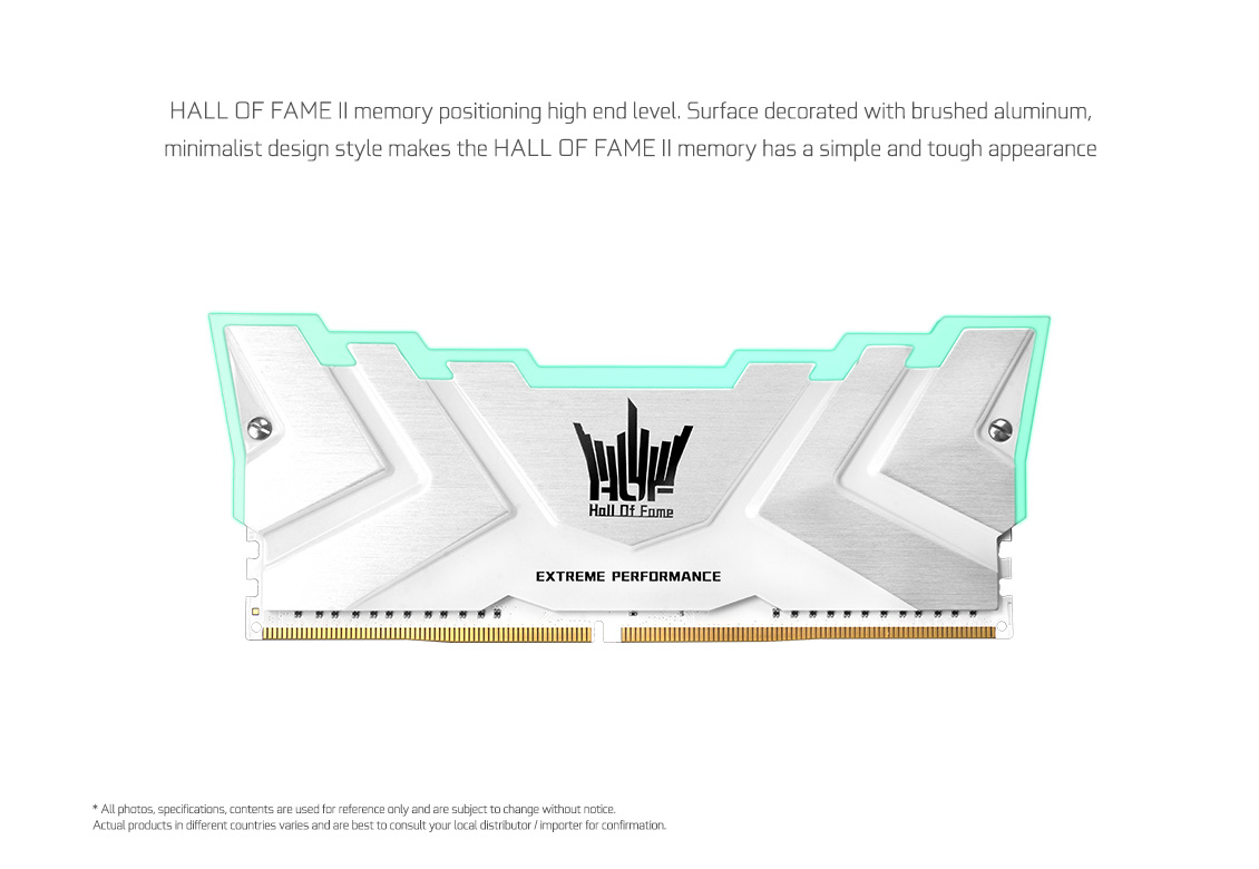 (16GB DDR4 2x8GB 4000) GALAX Hall Of Fame II RGB