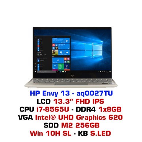 Laptop HP Envy 13 - aq0027TU (6ZF43PA)