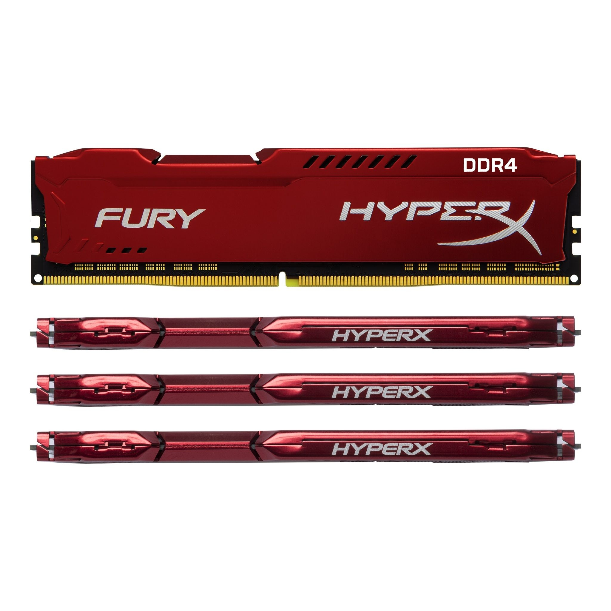 (8GB DDR4 1x8G 2666) RAM Kingston HyperX Fury Red
