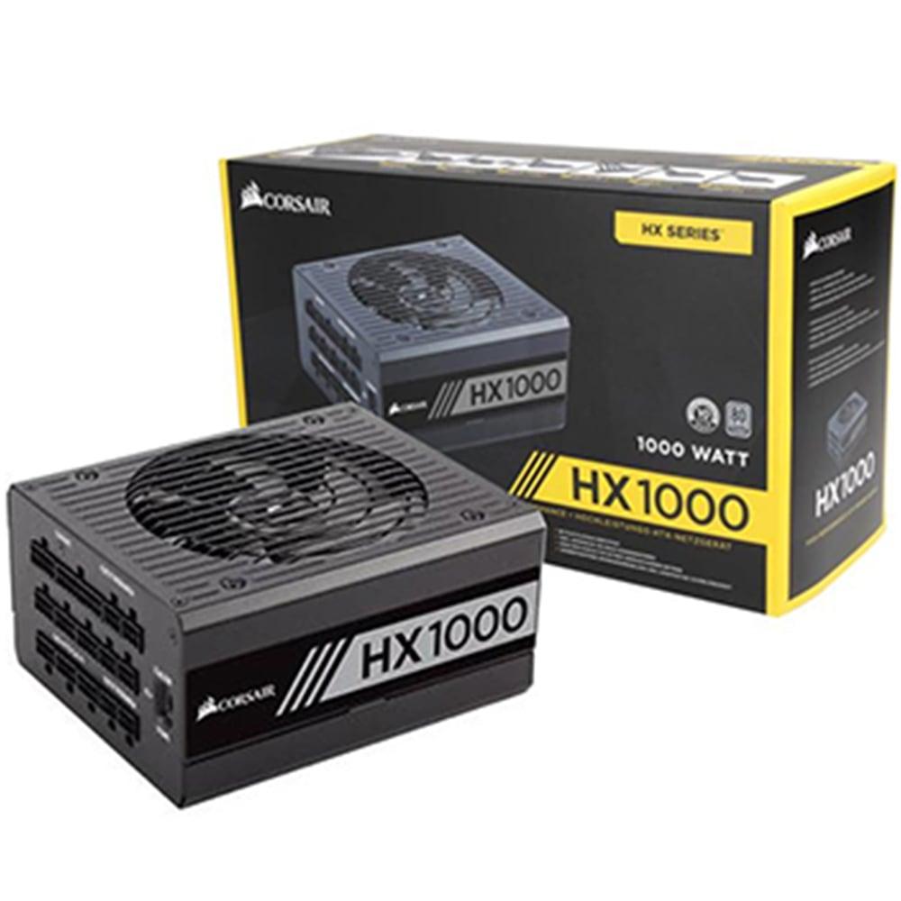 ( 1000W Platinum Modular) Corsair HX1000 80 PLUS® Platinum