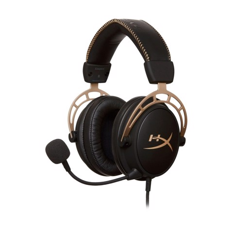 Tai nghe Kingston HyperX Cloud Alpha Gold Limited Edition