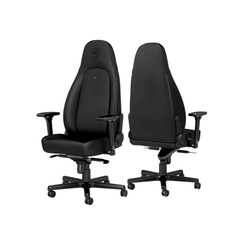 Ghế Gaming Noble Chair - Icon Short Gas Lift Black Edition