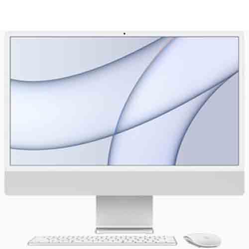 iMac 24 2021 M1 8GPU 8GB 256GB MGPC3SA /A - Silver