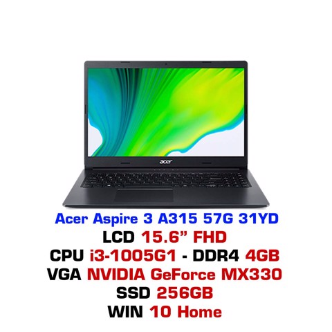 Laptop Acer Aspire 3 A315 57G 31YD