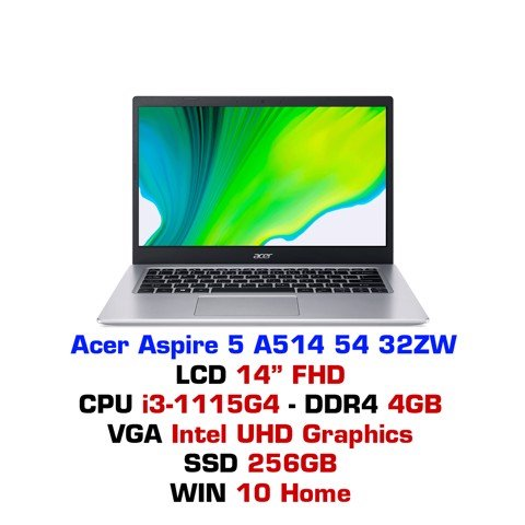 Laptop Acer Aspire 5 A514 54 32ZW