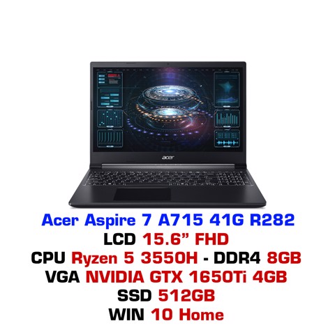 Laptop gaming Acer Aspire 7 A715 41G R282
