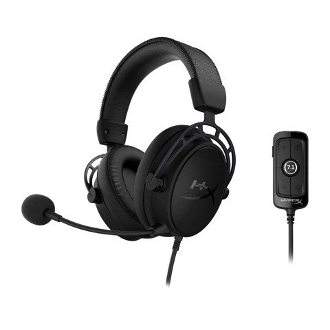Tai nghe Kingston HyperX Cloud Alpha S Black