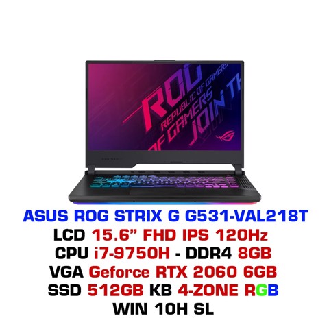 Laptop Gaming Asus ROG STRIX G G531 - VAL218T