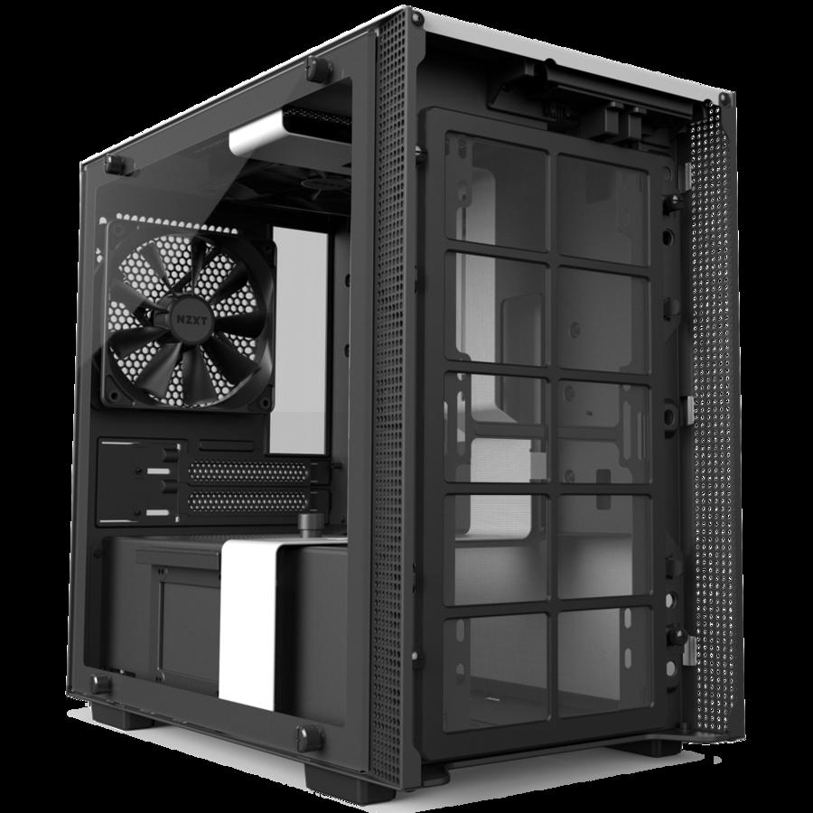 NZXT H200i White - Black (Mini ITX)