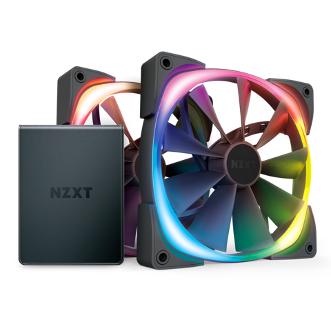 NZXT AER 2 RGB - 2FAN 120mm + HUE 2