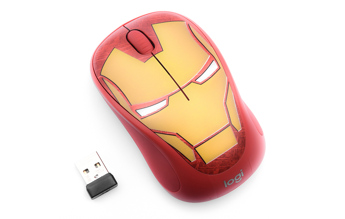 Logitech M238 Marvel - Iron Man
