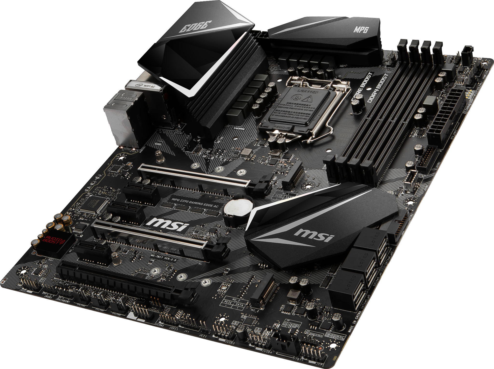 MSI MPG Z390 GAMING EDGE AC LGA1151V2
