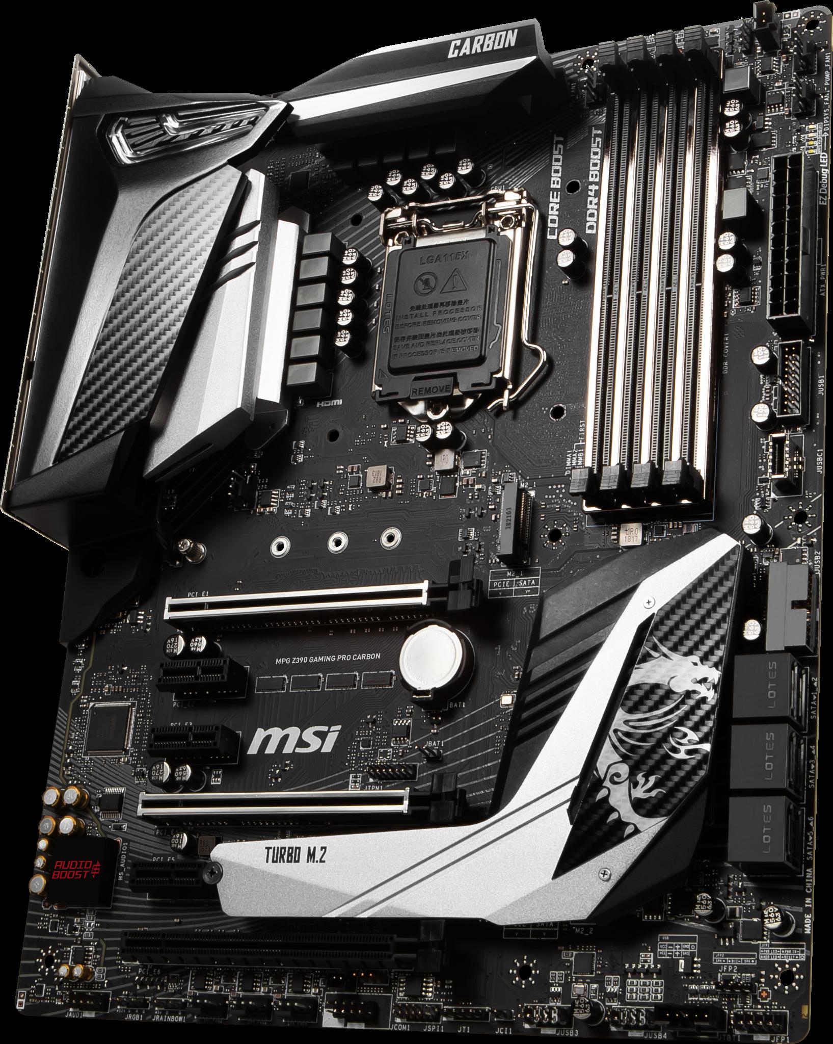 MSI MPG Z390 GAMING PRO CARBON LGA1151V2
