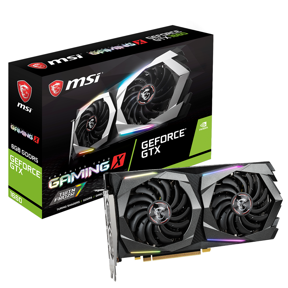 Card màn hình MSI GeForce GTX 1660 Gaming X