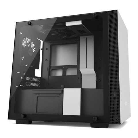 NZXT H200 White - Black (Mini ITX)
