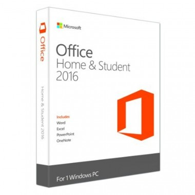 Office Home and Student 2016 Win English APAC EM Medialess P2 (79G-04679)