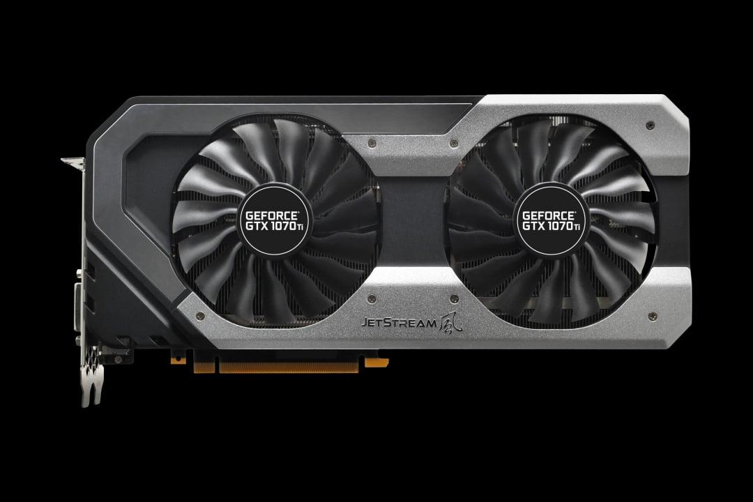 Palit GeForce® 1070ti Jetstream 8GB