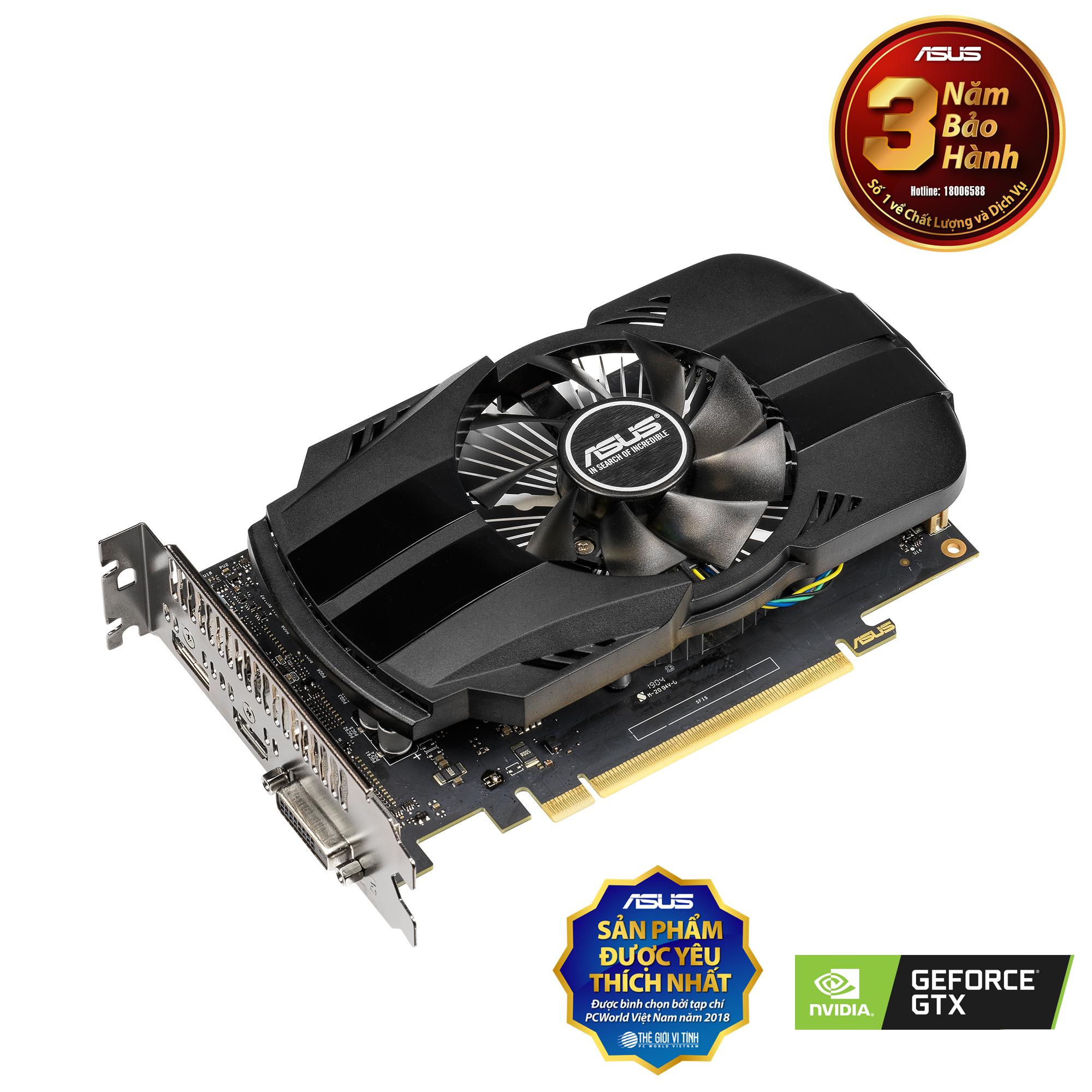 ASUS GeForce GTX 1650 4GB PHOENIX