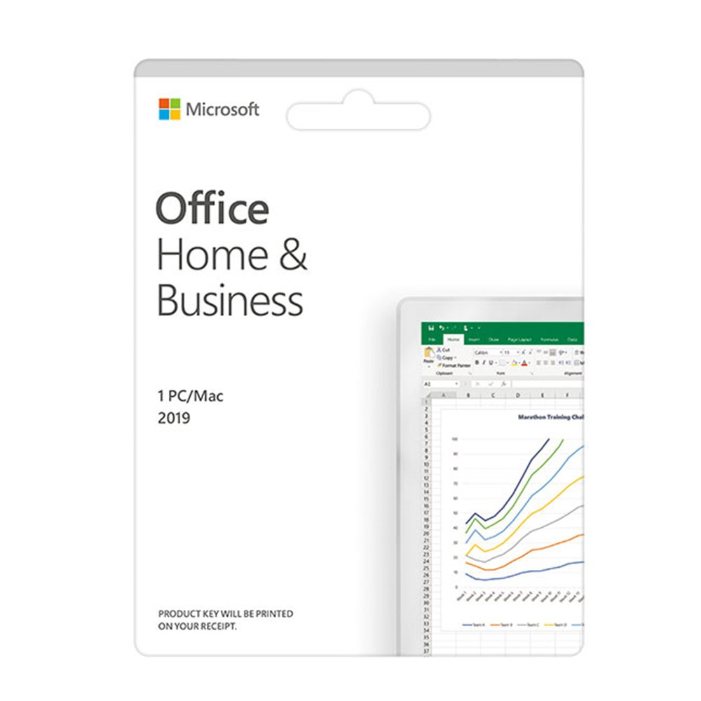 Phần mềm Office Home and Business 2019 English APAC EM Medialess P6 T5D-03302