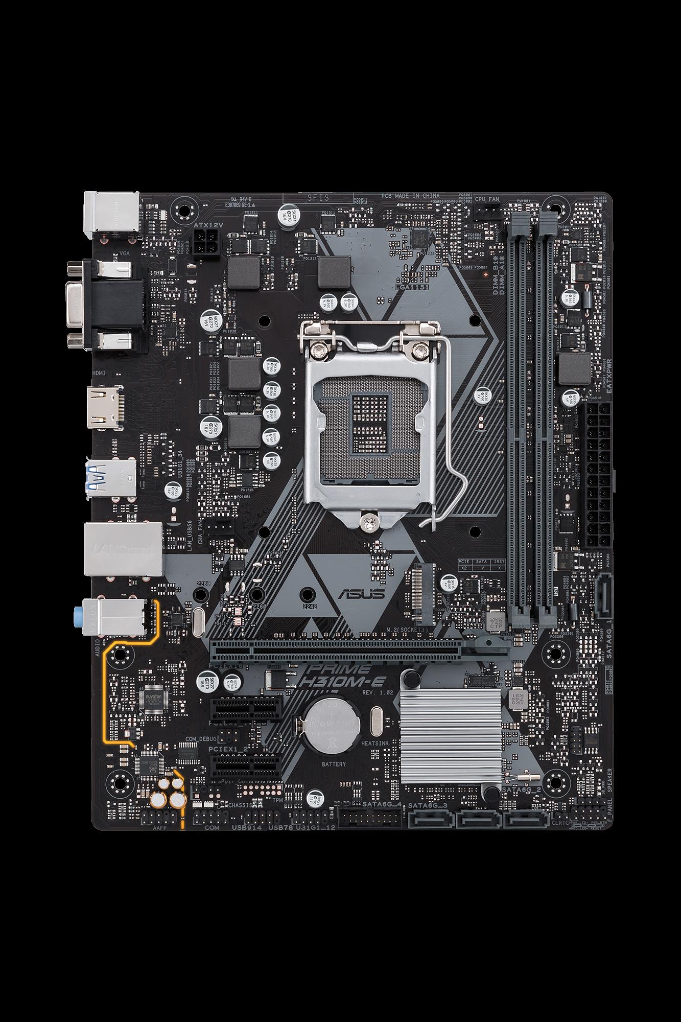 Asus Prime H310M-E LGA1151v2