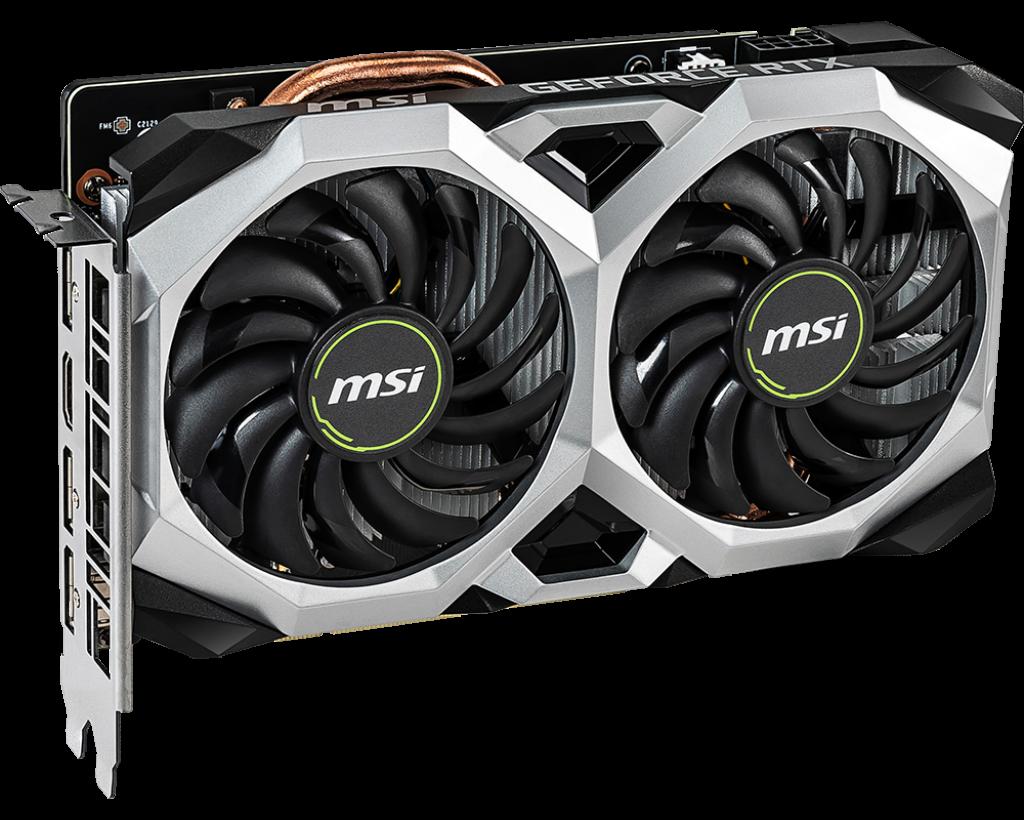 MSI GeForce RTX™ 2060 VENTUS XS 6G OC GDDR6
