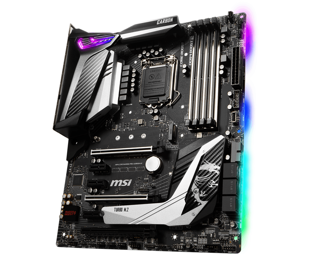 MSI MPG Z390 GAMING PRO CARBON AC LGA1151v2