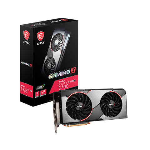 MSI AMD Radeon RX 5700 GAMING X 8GB