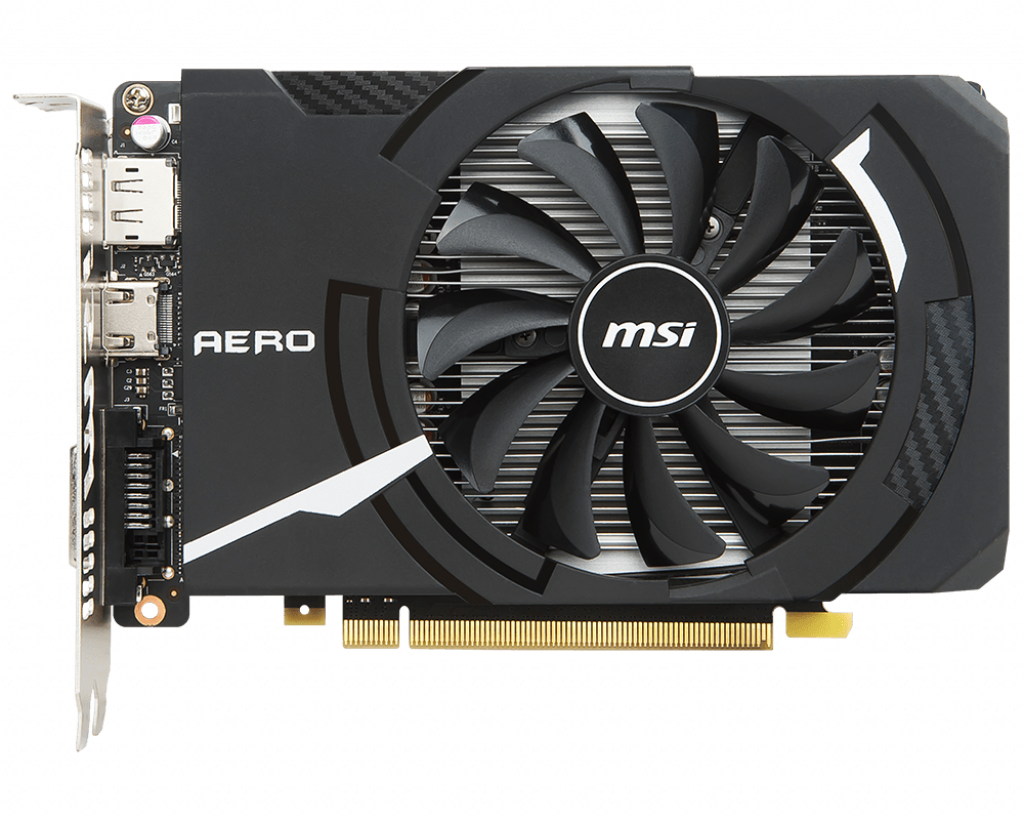 MSI GeForce® GTX 1050 Ti AERO ITX OC 4GD5