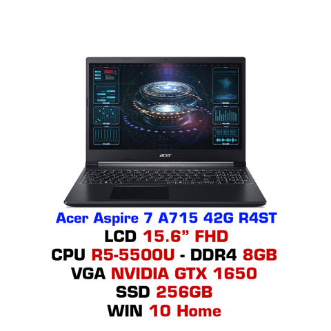 Laptop gaming Acer Aspire 7 A715 42G R4ST