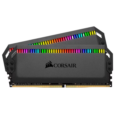 (32G DDR4 2x16G 3200) Corsair Dominator Platinum RGB CL16-18-18-36