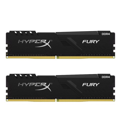 ( 16GB DDR4 2x8G 2666 ) RAM Kingston HyperX Fury Black