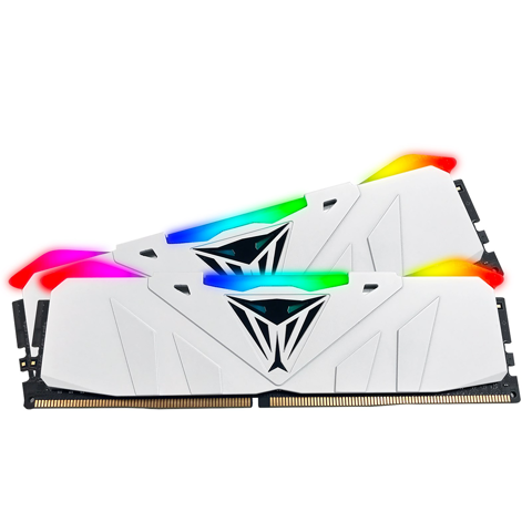 (16GB DDR4 2x8G 2666) Patriot Viper RGB White