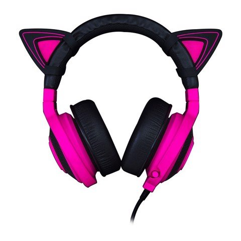Razer Kitty Ears - Neon Purple