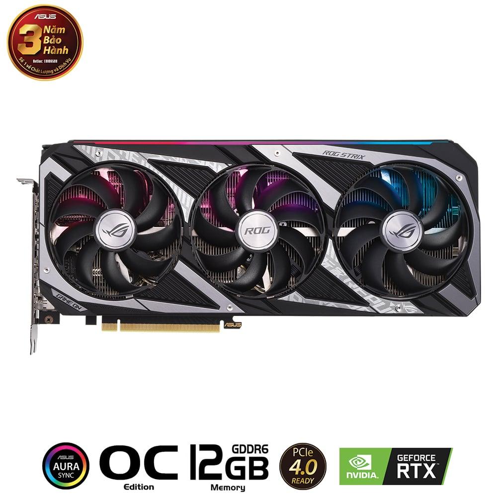 Card màn hình ASUS ROG Strix GeForce RTX 3060 GAMING O12G
