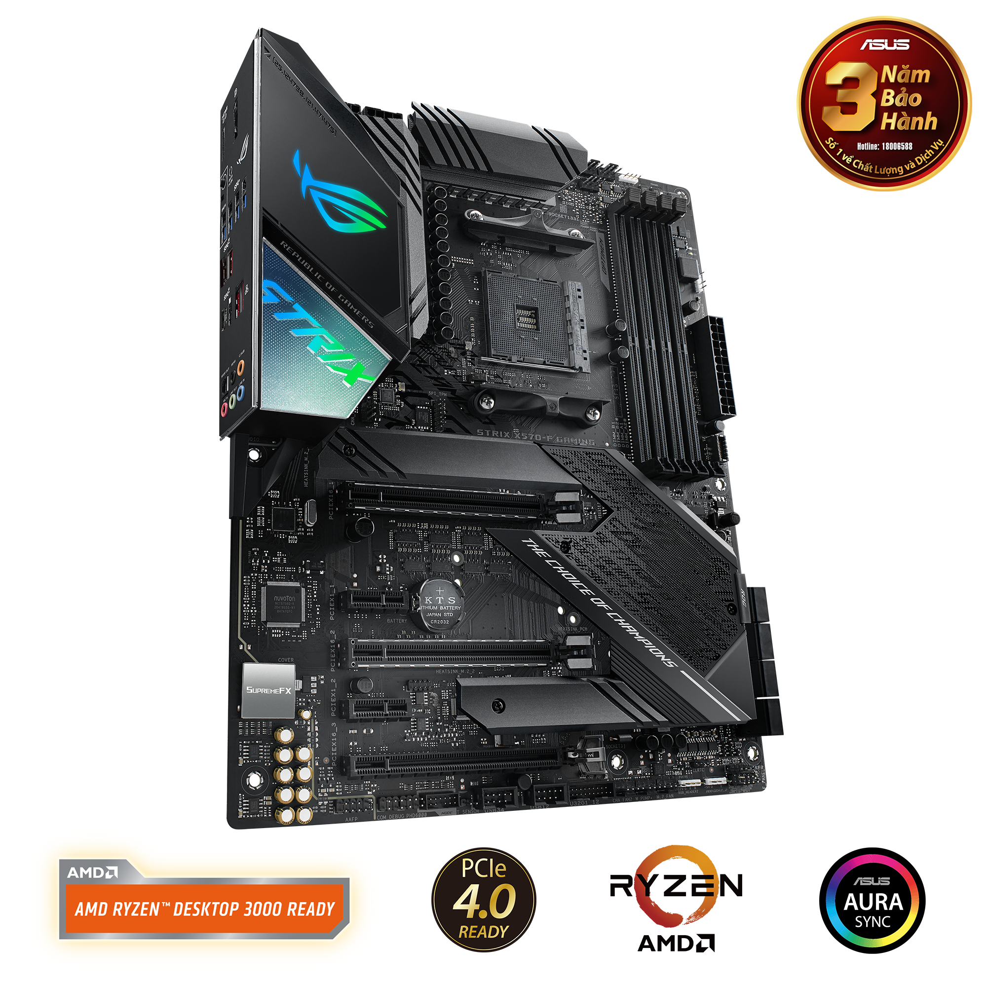 ASUS ROG STRIX X570 F-GAMING (AMD Socket AM4)