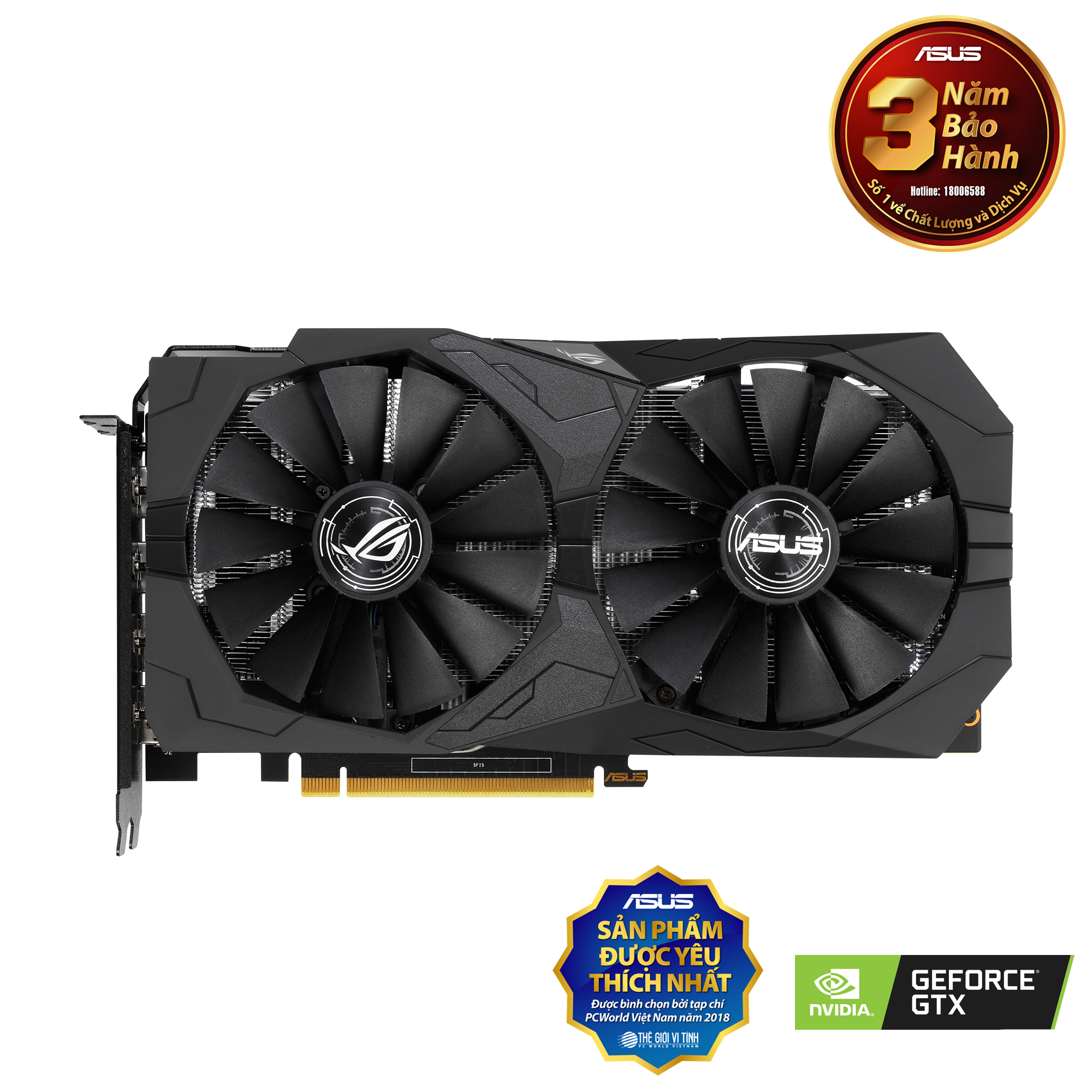 ROG Strix GeForce® GTX 1650 4GB GDDR6
