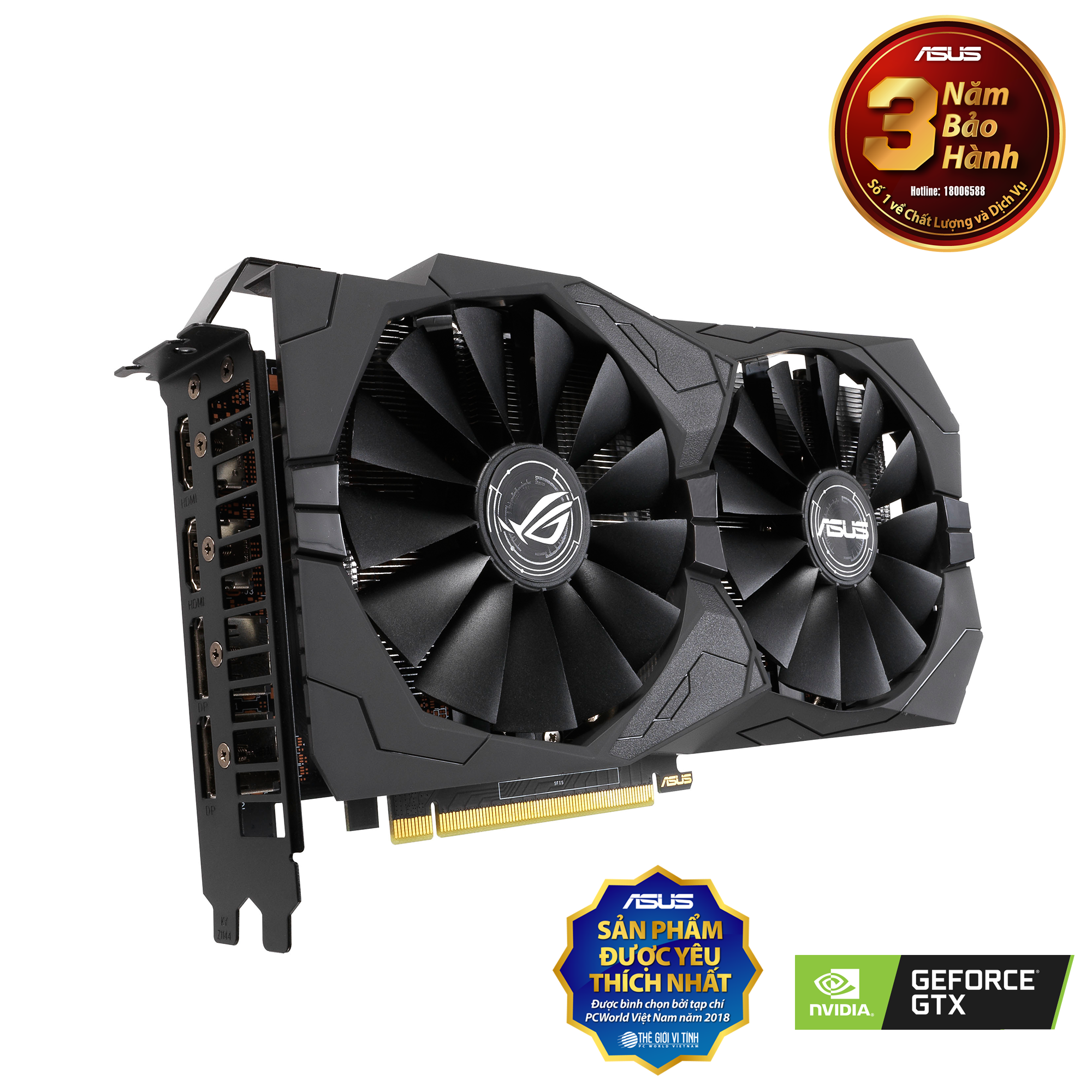 ROG Strix GeForce® GTX 1650 OC Edition 4GB GDDR5