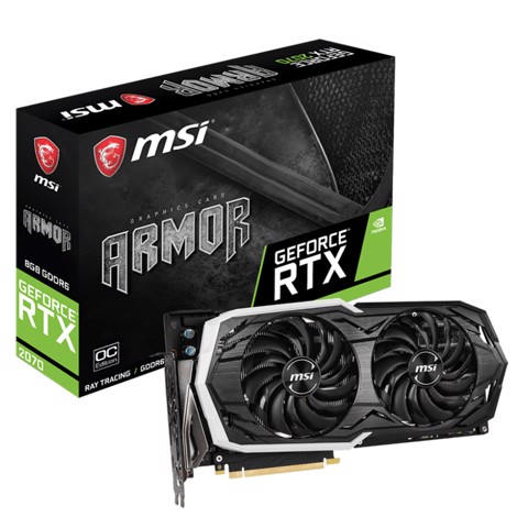 MSI GeForce RTX™ 2070 Armor 8G OC
