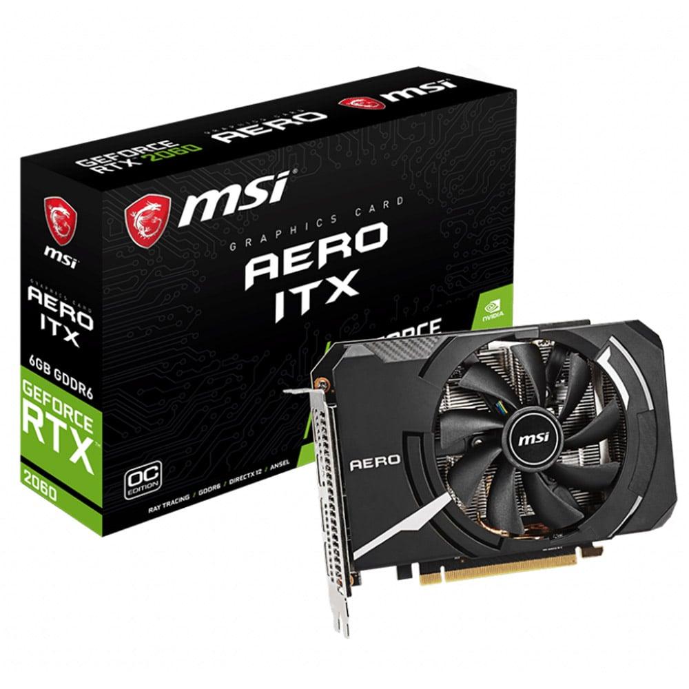 MSI GeForce® RTX™ 2060 AERO ITX 6G OC GDDR6