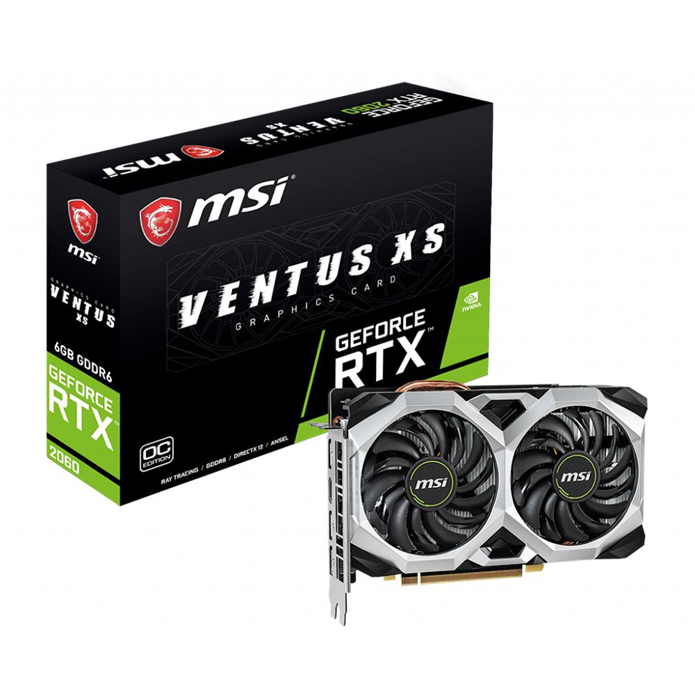 MSI GeForce RTX™ 2060 VENTUS XS 6G OCV1 GDDR6