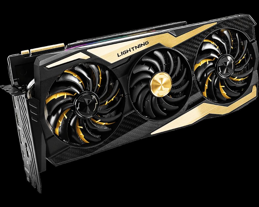 MSI GeForce RTX™ 2080 Ti LIGHTNING Z 11G GDDR6