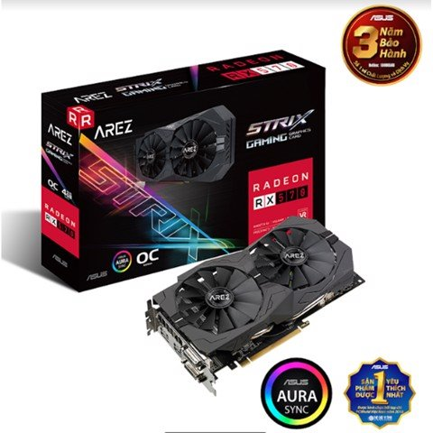 ASUS ROG STRIX RADEON RX 570 OC EDITION 4GB
