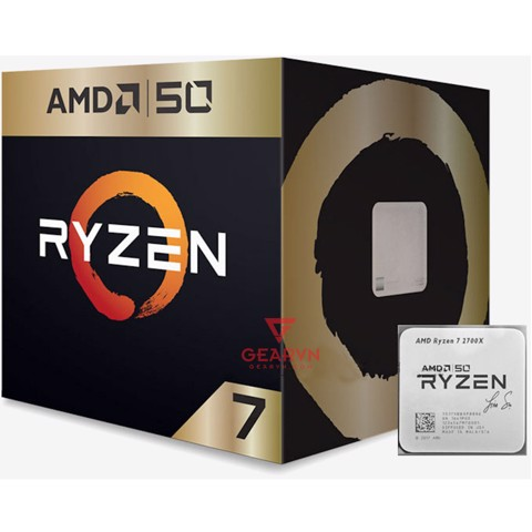 CPU Ryzen 7 2700X AMD50 Gold Limited