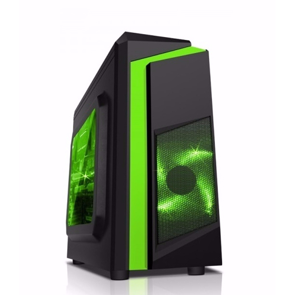 (Mini case ) SAMA eSport 2 Black / Green