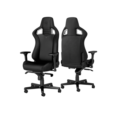 Ghế Gaming Noble Chair - Epic Short Gas Lift Black Edition