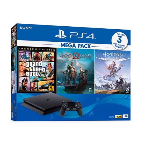 Máy chơi game Sony Playstation 4 Slim 1TB MegaPack 2