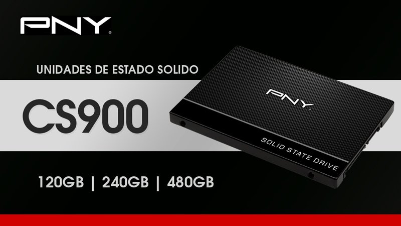 "SSD PNY CS900 2.5"" SATA III 120GB"