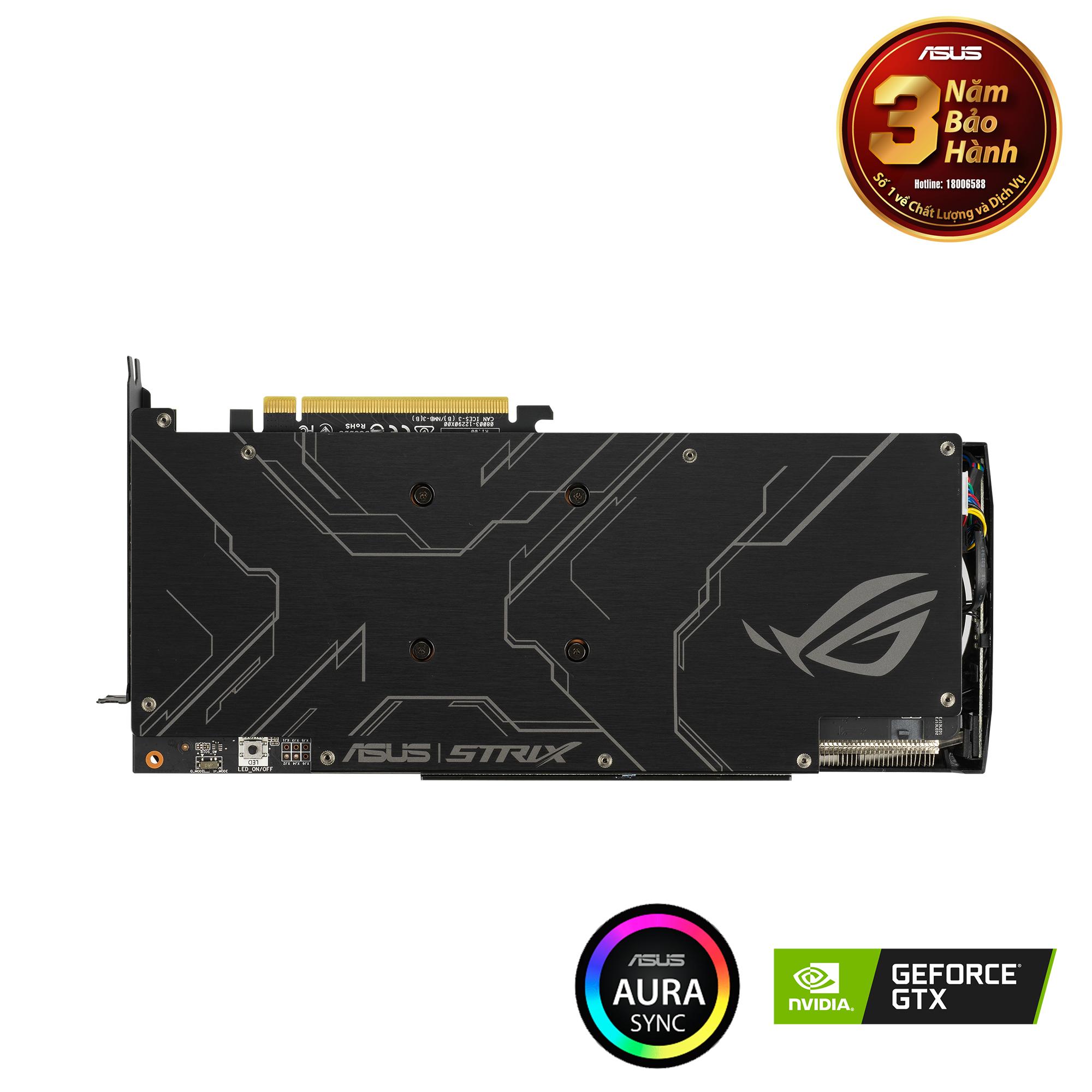 ROG Strix GeForce® RTX 1660 Ti Advanced Edition 6GB GDDR6