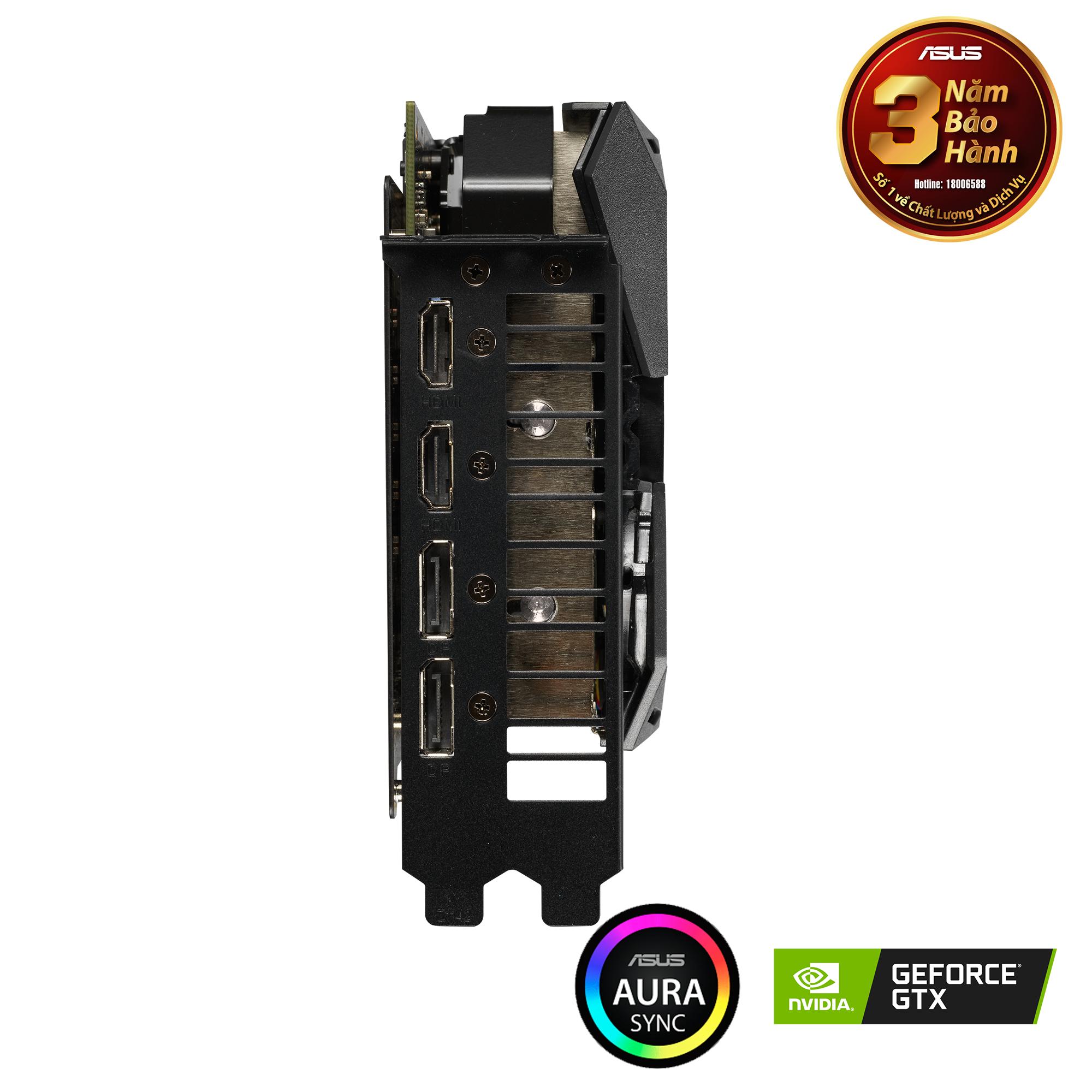 ROG Strix GeForce® RTX 1660 Ti OC edition 6GB GDDR6