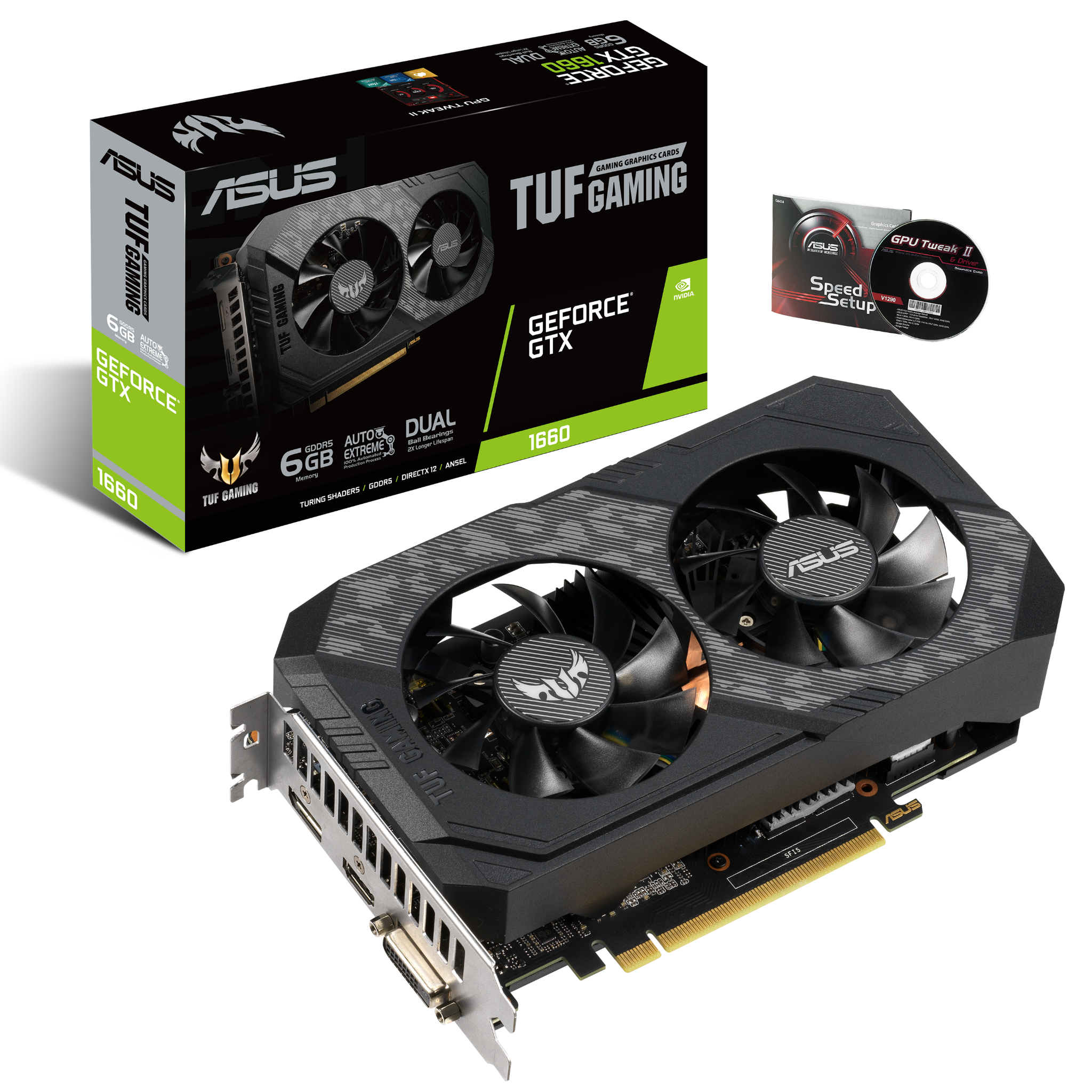 ASUS TUF GTX 1660 6G Gaming GDDR5